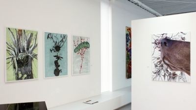 Alois Mosbacher, Perfect Paintings, Ausstellungsansicht Brunnhofer Galerie