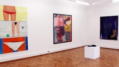 Ronald Kodritsch, WEITER - ein Rückblick, Ausstellungsansicht Brunnhofer Galerie