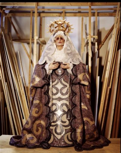 Madonna del Arte, 2007/2008, Polaroid, 19 x 24 cm bzw. C-Print vom Polaroid od. Leuchtkasten möglich
