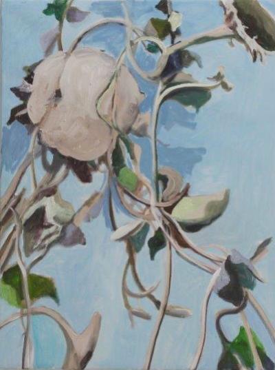 "Alois Mosbacher, ""Gartenbild"", Öl auf Leinwand, 80x60 cm, 2015"