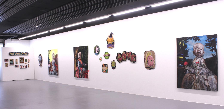 "Ausstellung ""NO DREAMS ALLOWED"", Katharina Karner & Teer, 2021"