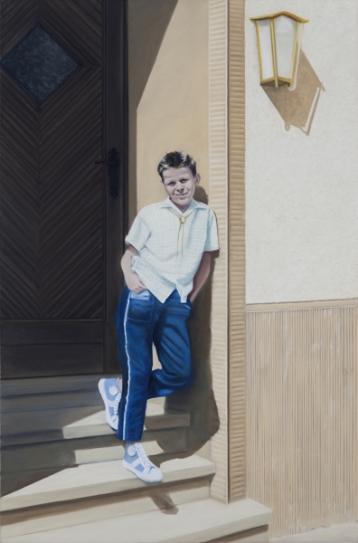 Diana Rattray, Keep Cool, 2013 / 2014, Pastell, 117 x 77 cm