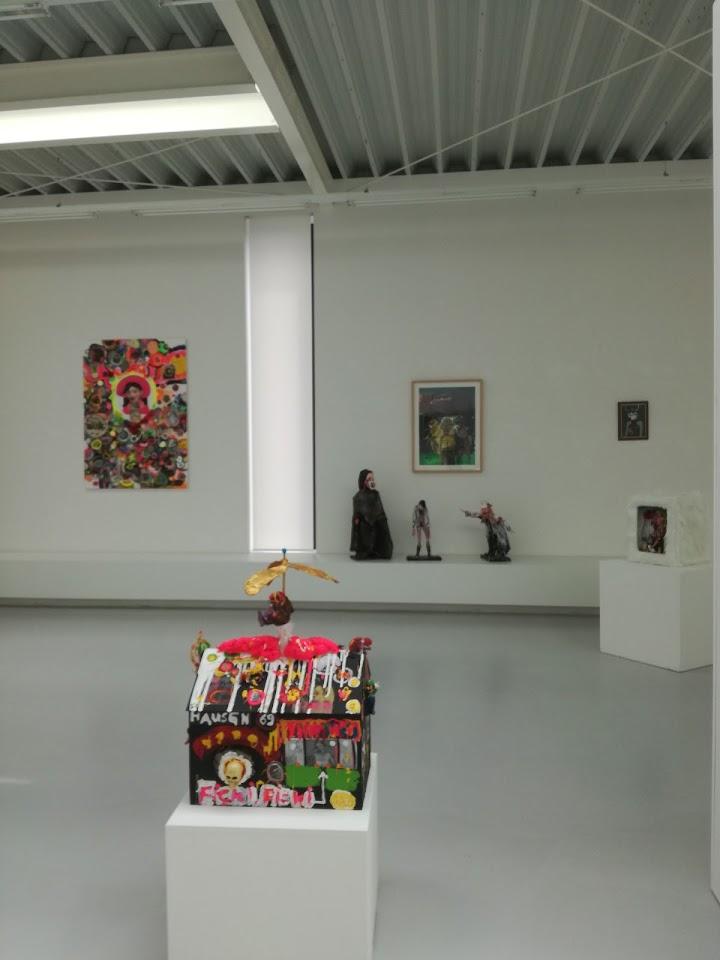 Oliver Kropf, Ausstellungsanischt, Brunnhofer Galerie, 2017