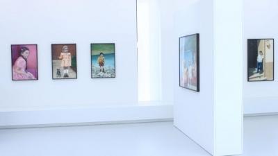 Diana Rattray, Time Passed By Unnoticed, Ausstellungsansicht Brunnhofer Galerie