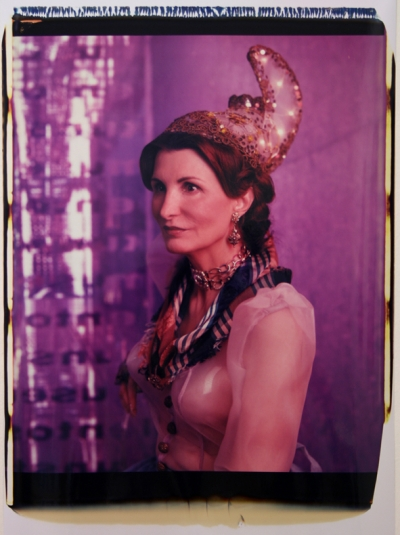 Irene Andessner, Schöne Linzerin, Polaroid, 65x45cm, 2009, Nr.: 6