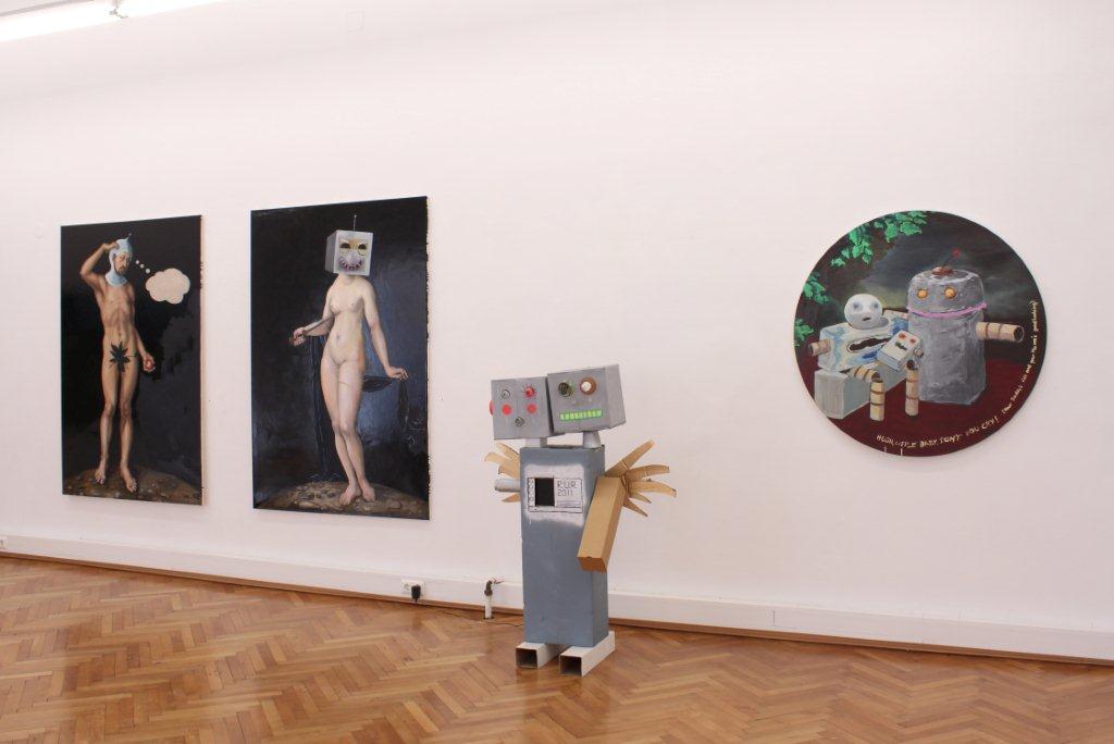 Katharina Karner, K.U.R., Ausstellungsansicht Brunnhofer Galerie, 2012