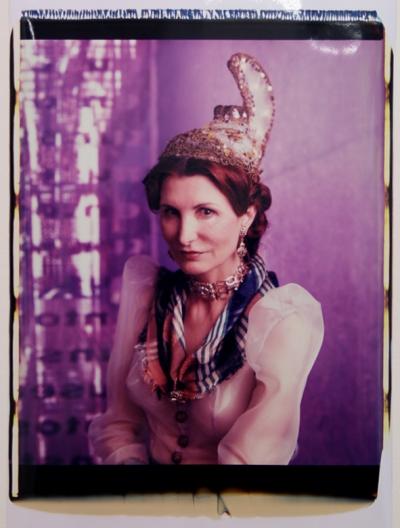Irene Andessner, Schöne Linzerin, Polaroid, 65x45cm, 2009, Nr.: 7