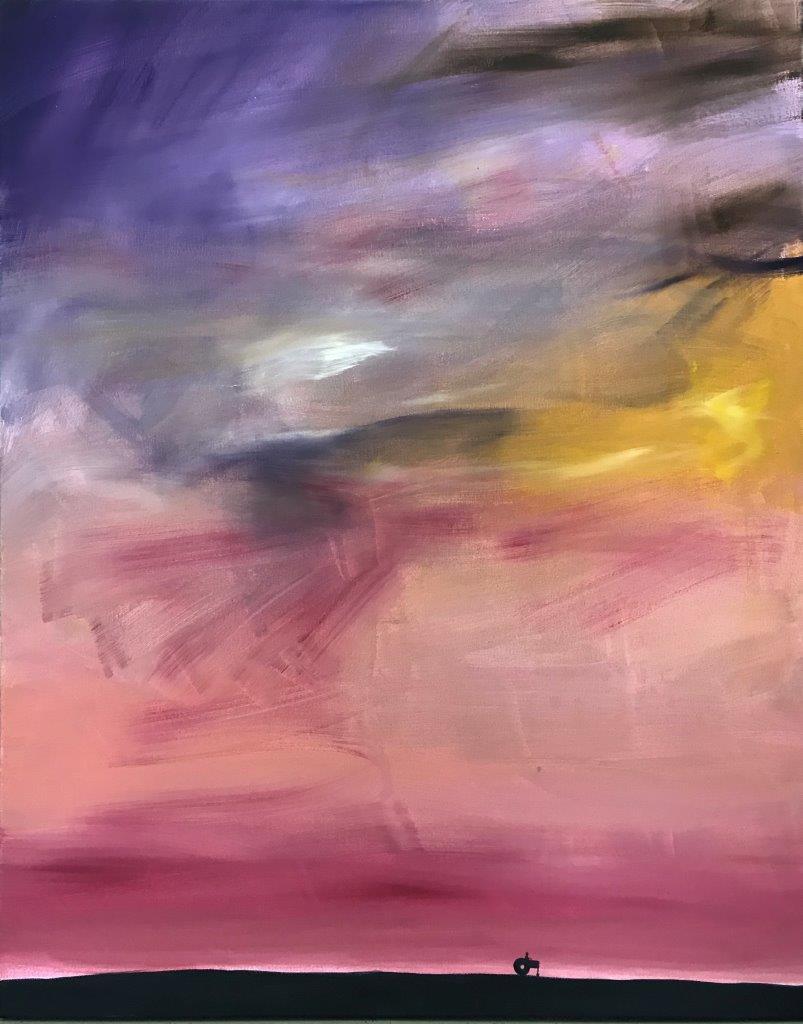 """Ronald Kodritsch, """"stanley road"""", 6-teilige Serie, Öl auf Leinwand, 40 x 50 cm, 2019🔴"""