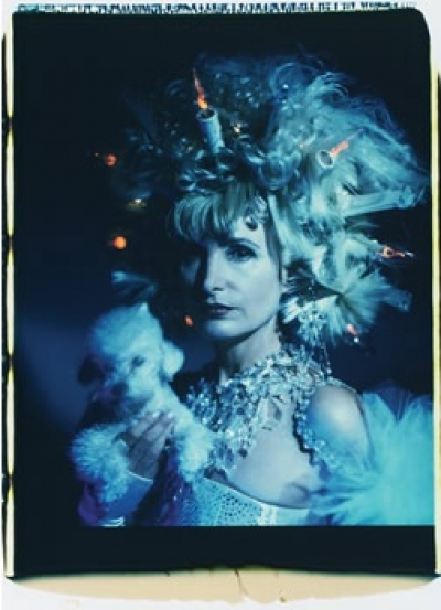 """Irene Andessner ,Irrlichter #4, Polaroid, 88x56 cm, gerahmt (aus der Serie """"Milli Stubel-Orth-Irrlichter, 2000)"""
