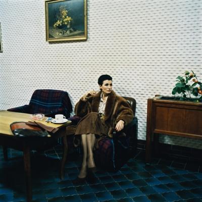 Irene Andessner und Paolo Leone,  Portraitprojekt I.A. »Ursula K.«, C-Print, Auflage 5 Stk., 100x100cm  und  C-Print, Auflage 9 Stk., 40x40cm mit Weißrand