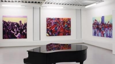 Anton Petz, Human Transaction, Ausstellungsansicht Brunnhofer Galerie