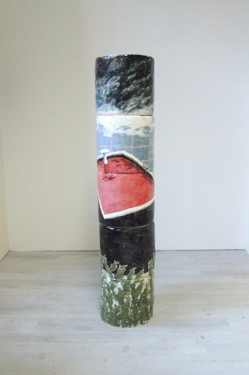 Oktavia Schreiner, Hausberg, 2018, Keramik