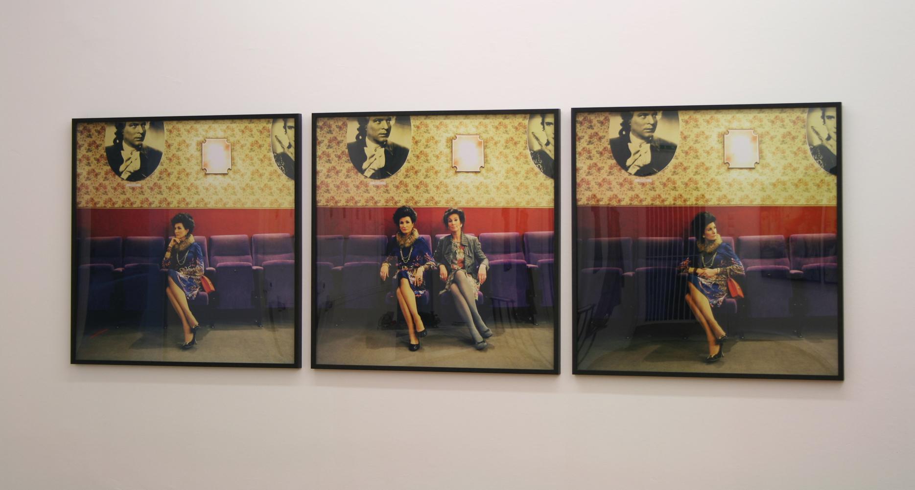 Irene Andessner und Paolo Leone, Ursula K., Ausstellungsansicht Brunnhofer Galerie, 2008