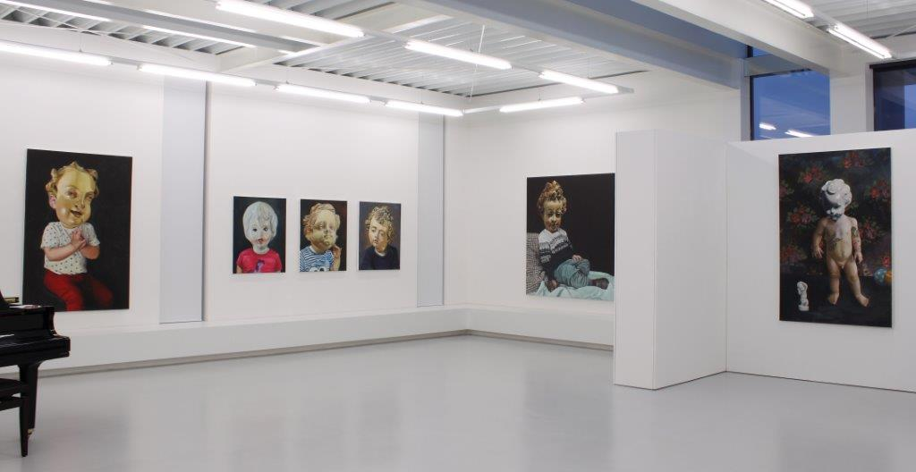 Katharina Karner, Kids, Ausstellungsansicht, 2017