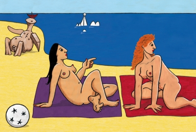 Michaela Konrad, On the Beach (Picasso)
