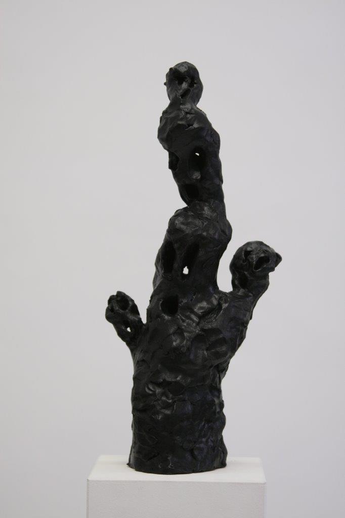 """Ronald Kodritsch, """"schwarze Geister, Kopfstreber"""", Ton, 2019,"""