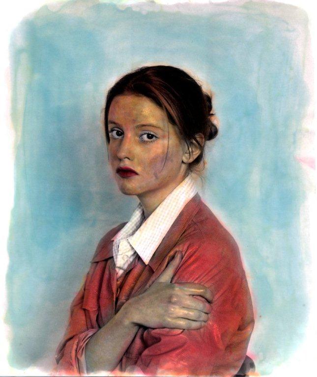 Ingolf Timpner, o.T. – N59, 2009, Pigmentdruck auf Hahnemühle , 65 x 56,5cm, gerahmt 70x60cm