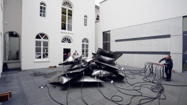 Thomas Kühnapfel, Ausstellungsansicht Museum Kurhaus Kleve, Foto: Gottfried Evers