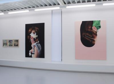 Jennifer Nehrbass, Forever and a Day, Ausstellungsansicht Brunnhofer Galerie