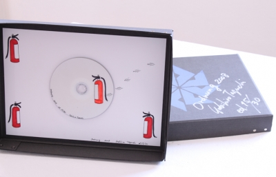 "Yukihiro Taguchi, ""Ordnung"" Video Edition, ""Ordnung"", 2008 Edition 1/30 - 30/30 Original DVD bemalt,signiert DVD-R: MPEG-2, NTSC, region code-free, color mini DV:NTSC, color Time: 3:55"