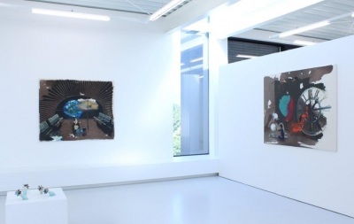 INDRA., BLACKBIRDS ON A RAINBOWGREY DAY, Ausstellungsansicht Brunnhofer Galerie