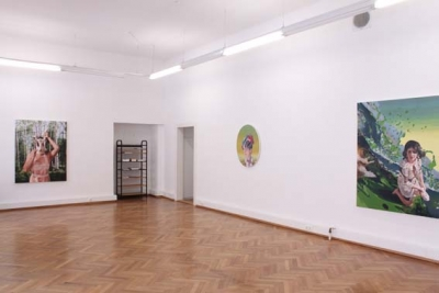 Jennifer Nehrbass, Power Gardens, Ausstellungsansicht Brunnhofer Galerie