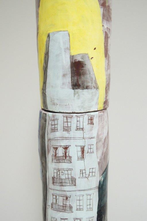 """Oktavia Schreiner, """"Aufenthalt bei den Dingen"""", Detail"""