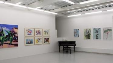 Alois Mosbacher und Anton Petz, Perfect Paintings, Ausstellungsansicht Brunnhofer Galerie