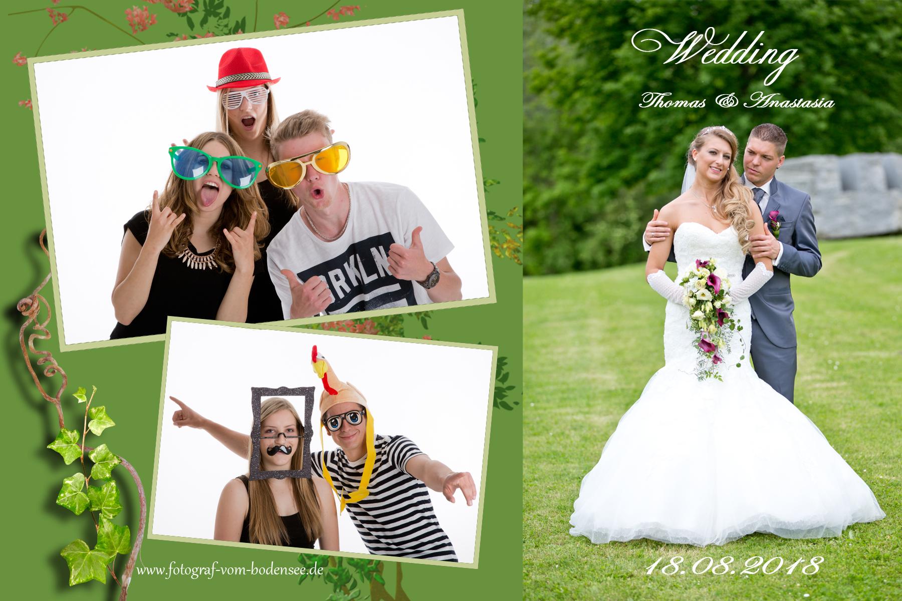Fotobox mieten All inkl. 299€ ganzes Wochenende!