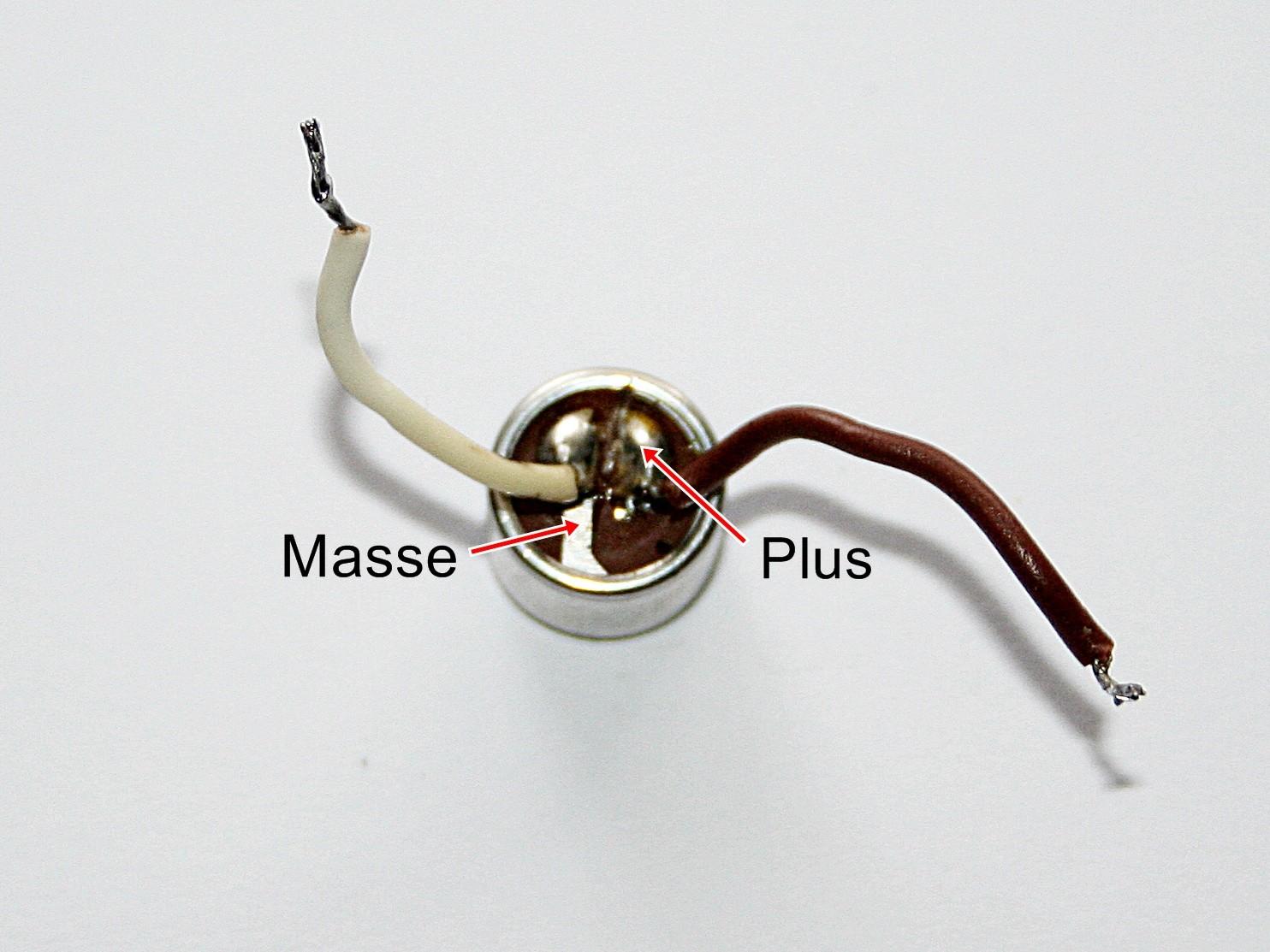 Einfacher Mikrofonverstärker für 1,5 Volt - Elektronische Basteleien