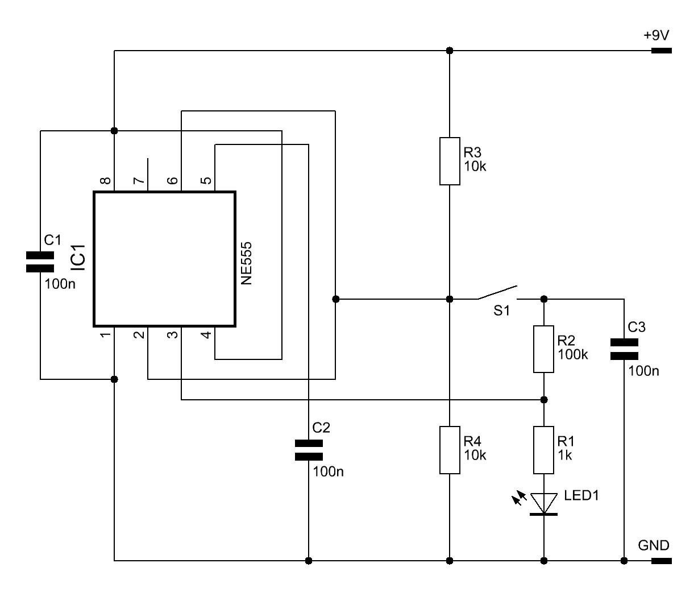 T-Flipflop-Schaltung - Elektronische Basteleien