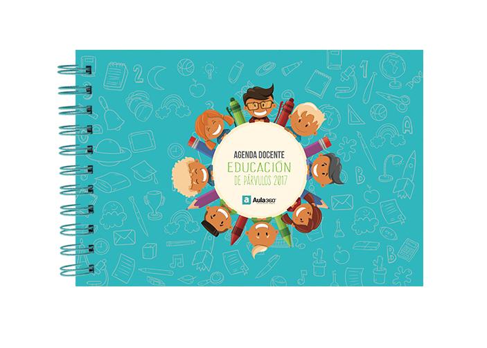 Portada 02 Agenda Docente Gratis Educación de Parvulos