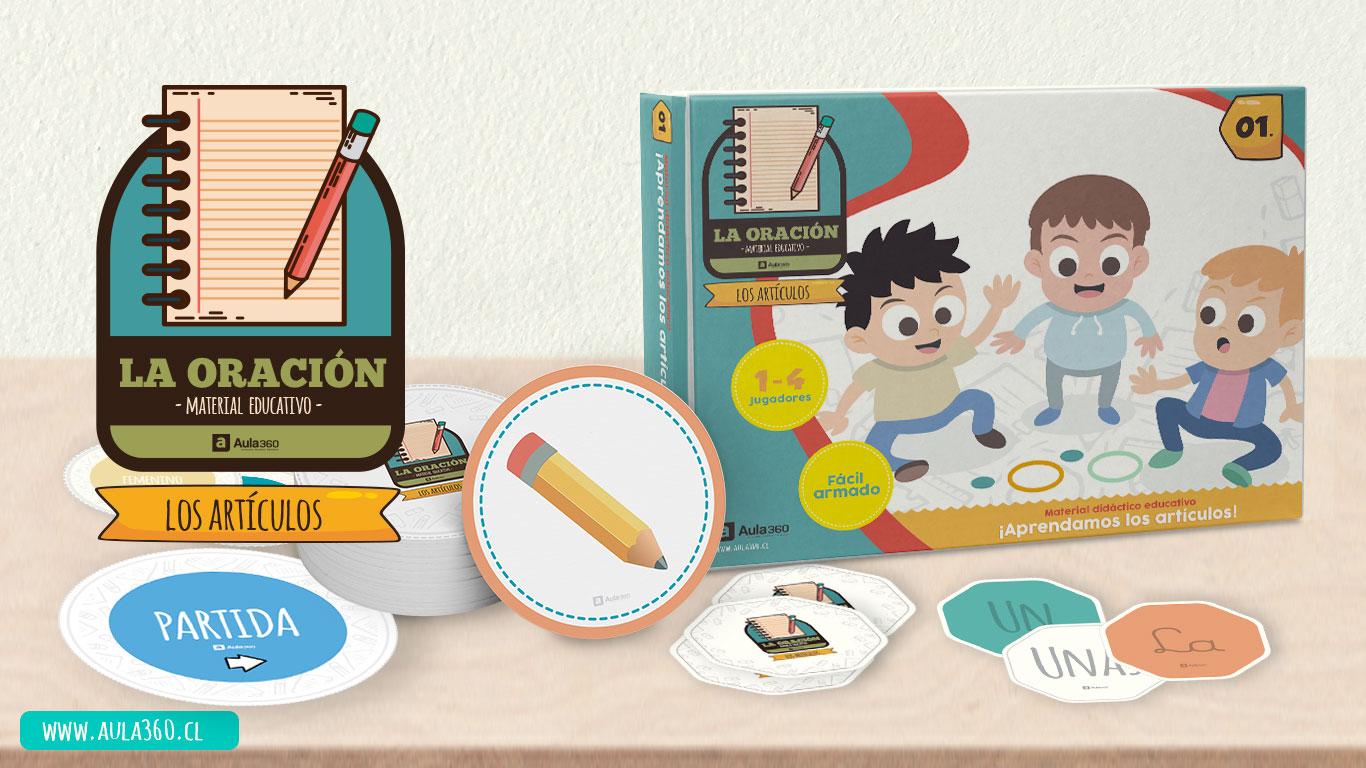 Descarga este bello juego gratis para enseñar los artículos a los niños de básica primaria aula360