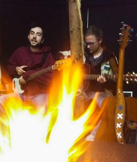 11.05.2019 - Lagerfeuermusik bei der DPSG in Meschede
