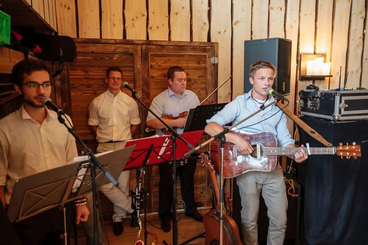 20.09.2014 - Fahrstuhlmusik auf der Hochzeit von Anna & Jens