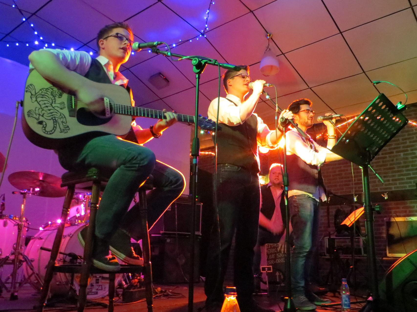 05.01.2014 - unser erster Auftritt in der Firedenseiche in Walbeck