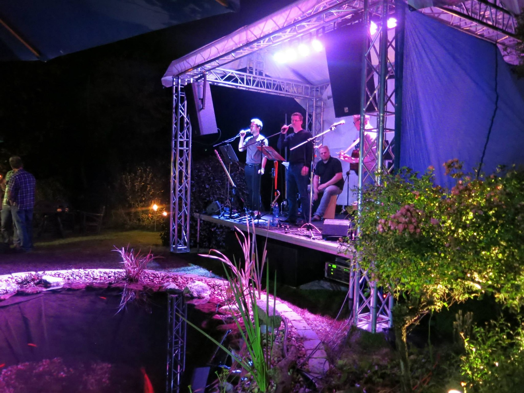30.08.2014 - Abendprogramm auf Sevos Geburtstag