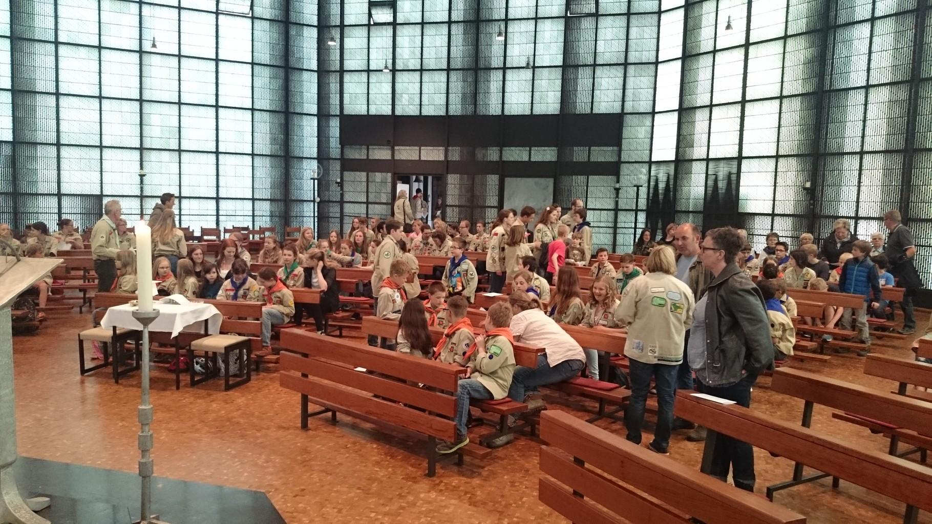 24.04.2015 - musikalische Gestaltung der Messe zum Georgstag der DPSG