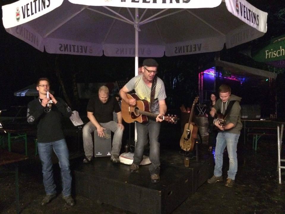 """15.08.2015 - Akustisch auf dem """"geldernsein Festival"""""""