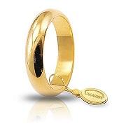 Fede Unoaerre Classica Oro Giallo Gr. 7 mm 4,5 Referenza: 70AFN1