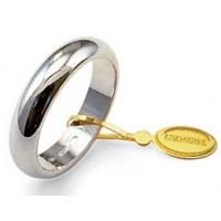 Fede Unoaerre Classica 10 Grammi Oro Bianco Referenza: 100AFN1