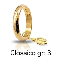 Fede Unoaerre Classica Oro Giallo 3 Grammi Referenza: 30AFN1G
