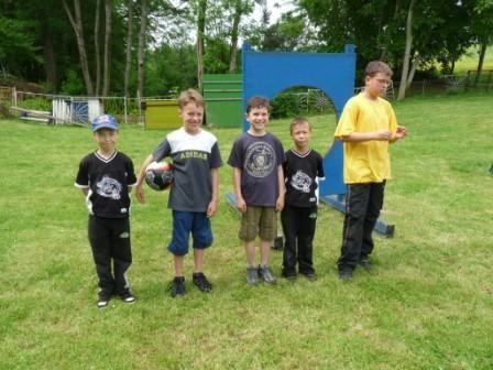 Kindermannschaft Himmelfahrt 2009 Zielschießen