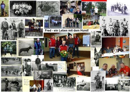 Fotomontage für Fred zum 70.