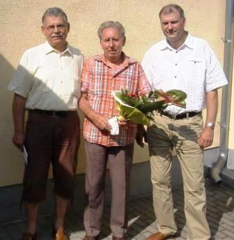 Senior Hans ist 71