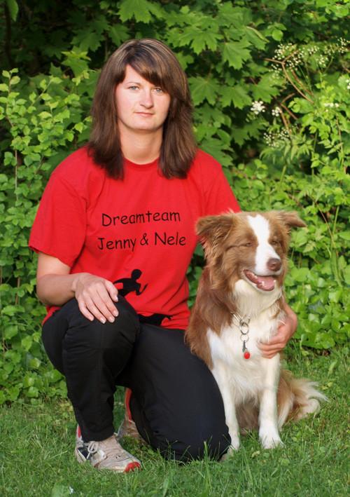 Jenny mit Nele