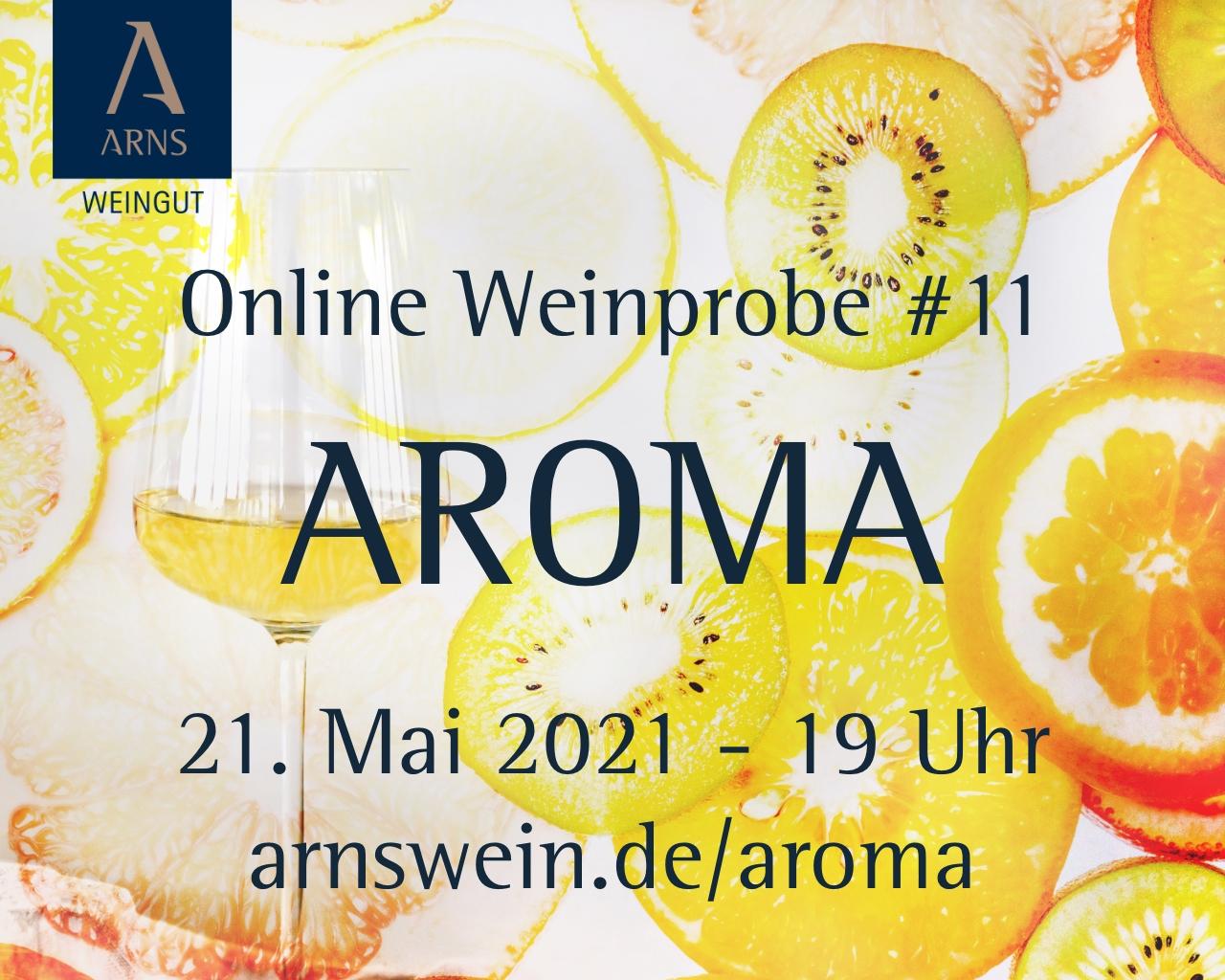 Online Weinprobe #11 – AROMA