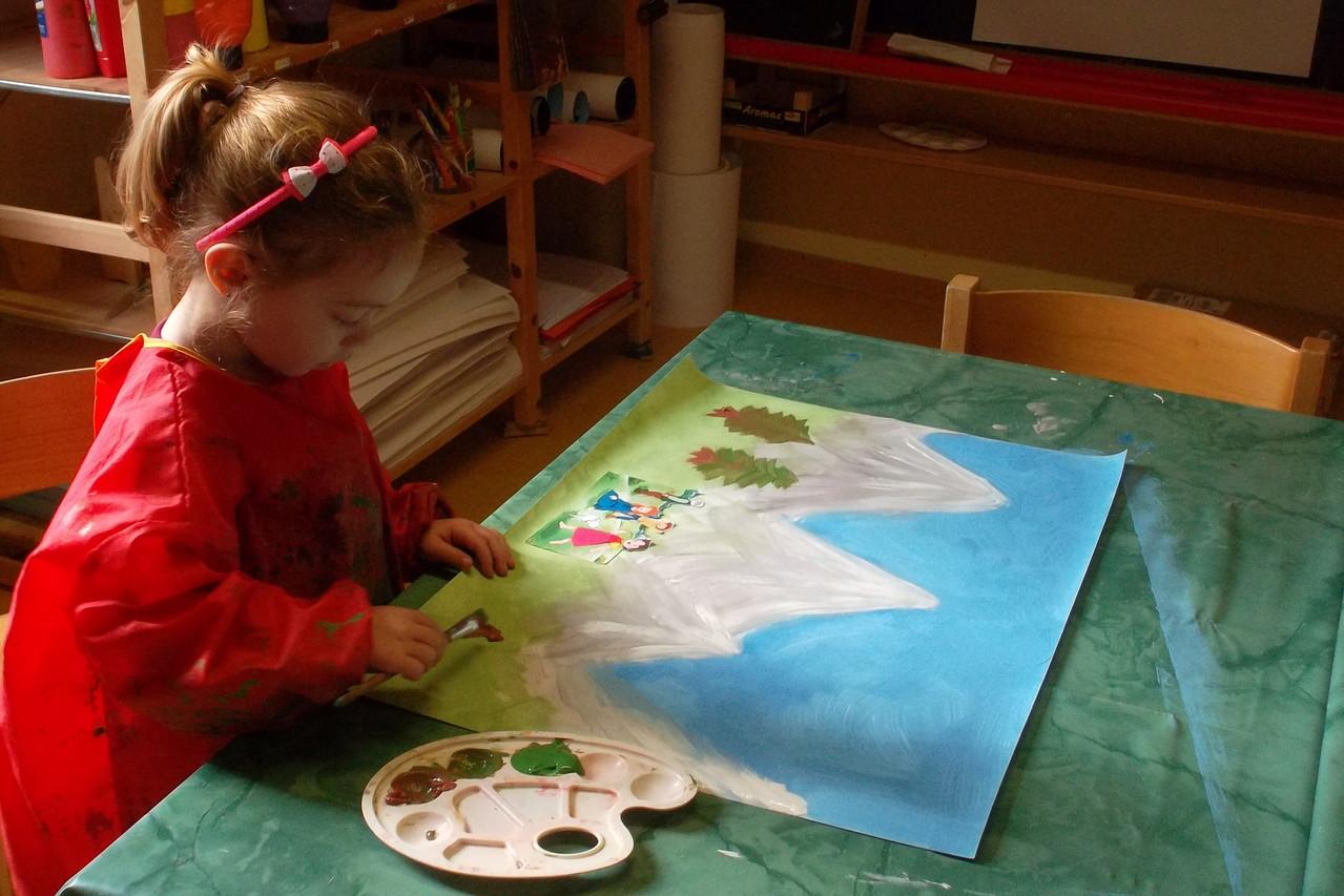 Malen unsere eigenen Bühnenbilder
