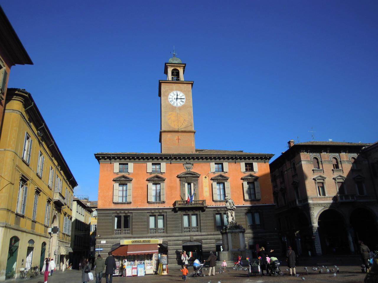 Marktplatz in Reggio-Emilia