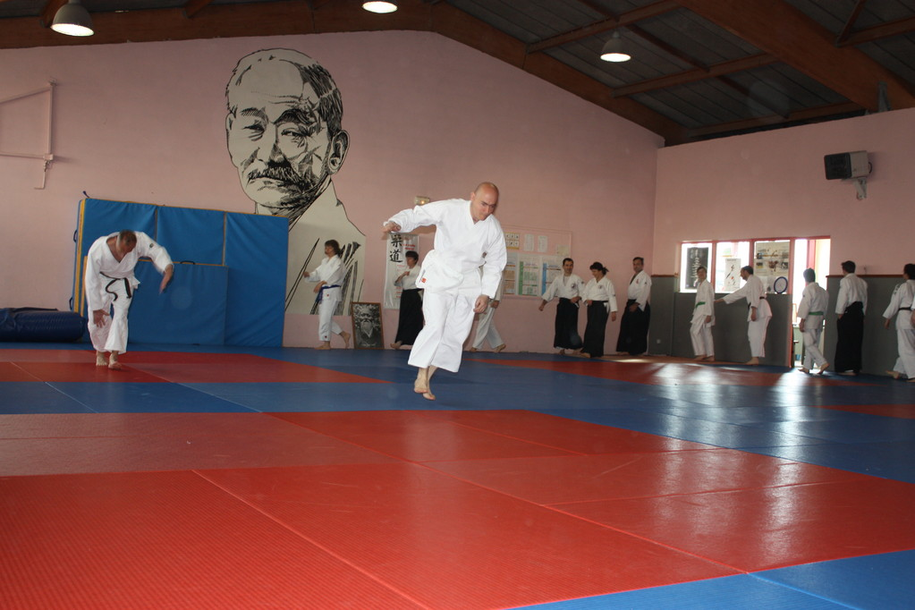 Retrouver toutes les photos dans l'onglet photos videos de l'Aikido